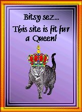 Bitsy's Fit Fur a Queen Award