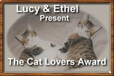 Cat Lover's Award