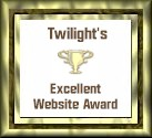 Twilight's Excellent Website Award